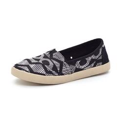 Toms Classics Avalon canvas black tribal