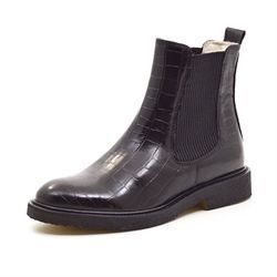Billi Bi chelsea boot croco m. foer sort