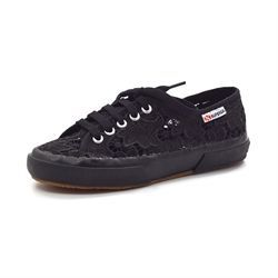 Superga 2750 Macramew sort blonde