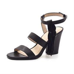 731bd2954ede Ilse Jacobsen sandal m. frynser høj