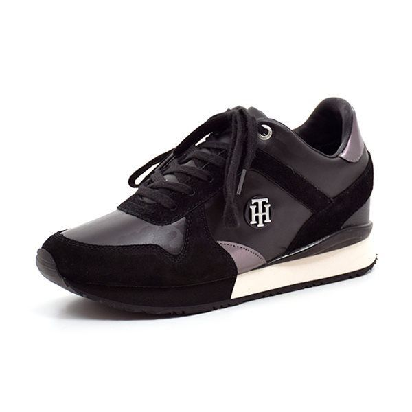Tommy Hilfiger Sady sneakers metalic/sort