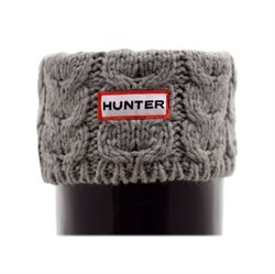 Hunter Chunky Cable soft grey