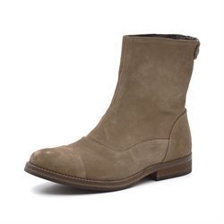 Mentor backzip boot light brown ruskind